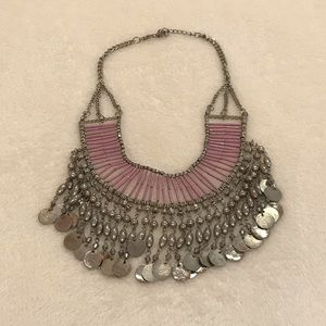 Purple Statement Necklace from Nordstrom